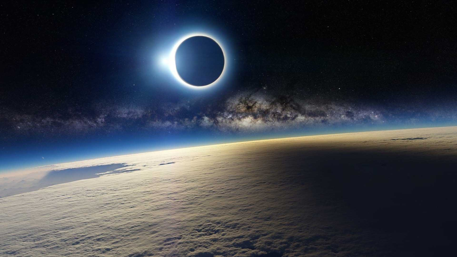 sfondi hd eclissi