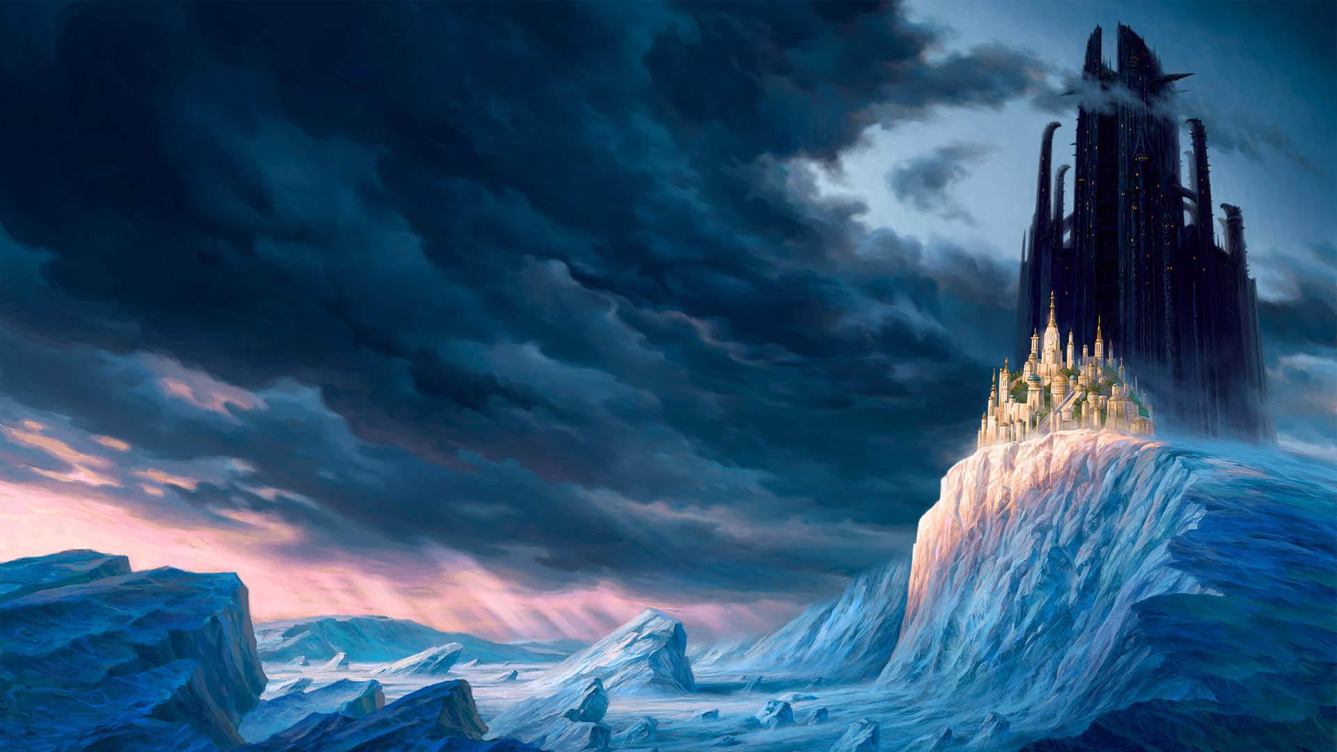 castello di fantasia sfondi hd