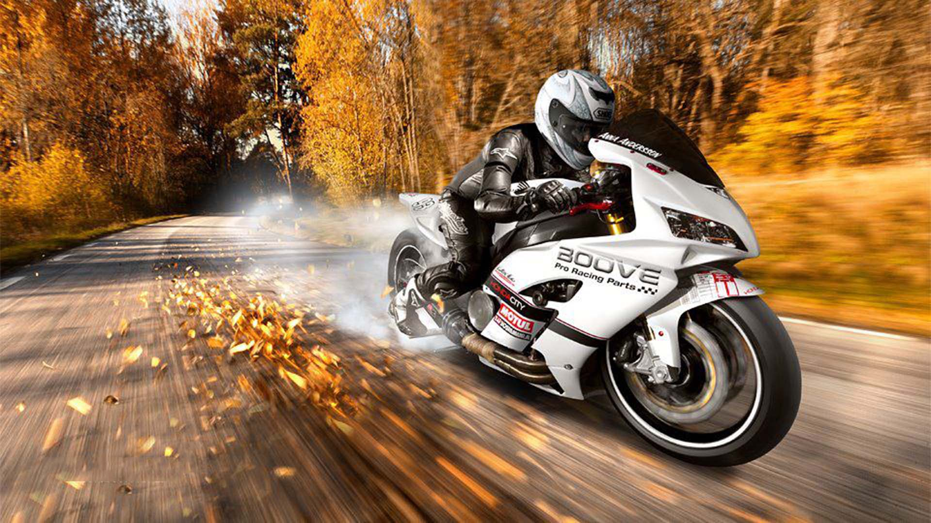 motocicletta honda wallpaper hd